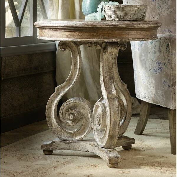 Chatelet Scroll End Table By Hooker Furniture