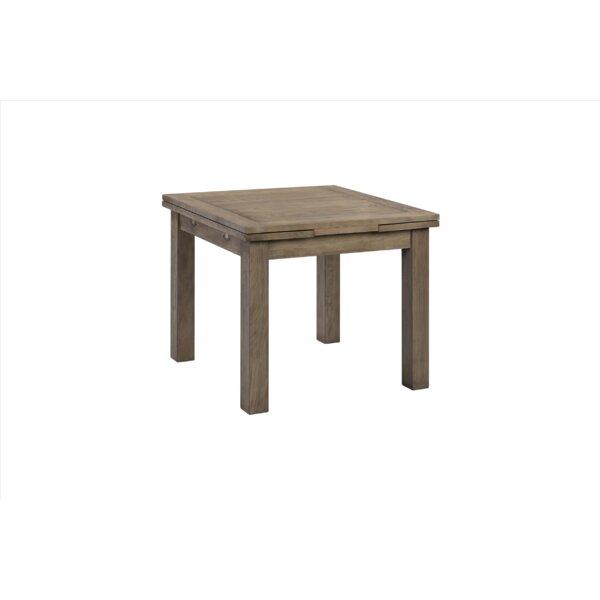 Badalamenti Square Extendable Solid Wood Dining Table by Loon Peak Loon Peak