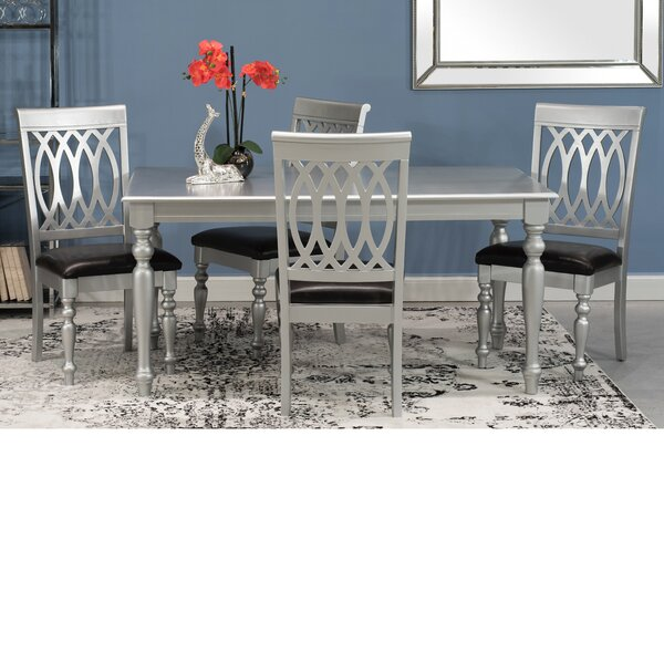 Tyne 5 Piece Dining Set by House of Hampton