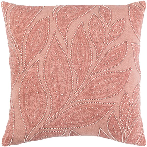 Tessie Linen Pillow Cover by House of Hampton