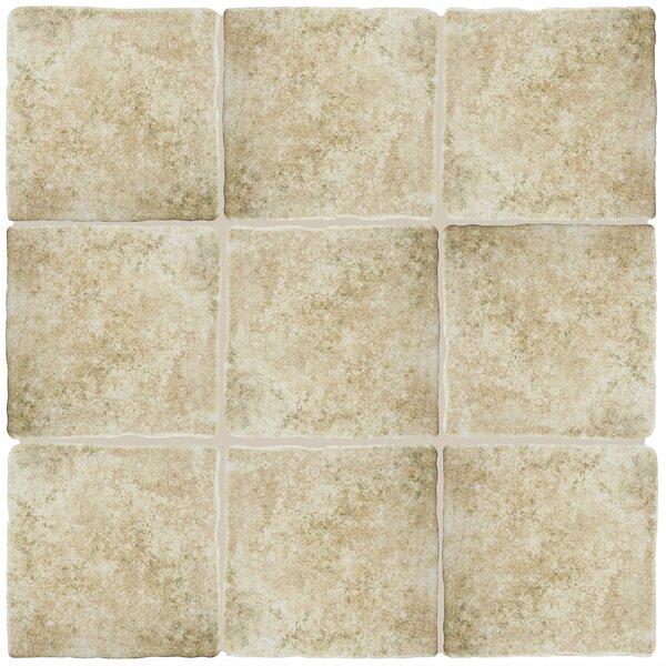 Diego 7.75 x 7.75 Ceramic Field Tile in Beige by EliteTile