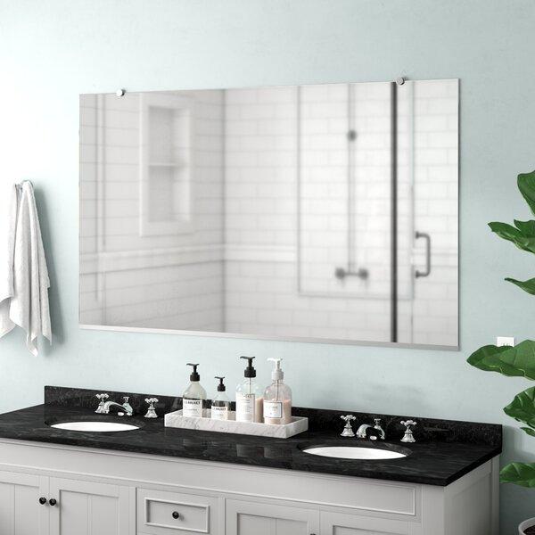 Lanphear Flat Bathroom/Vanity Mirror by Latitude R