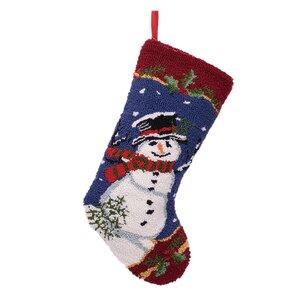 Snowman Christmas Stocking