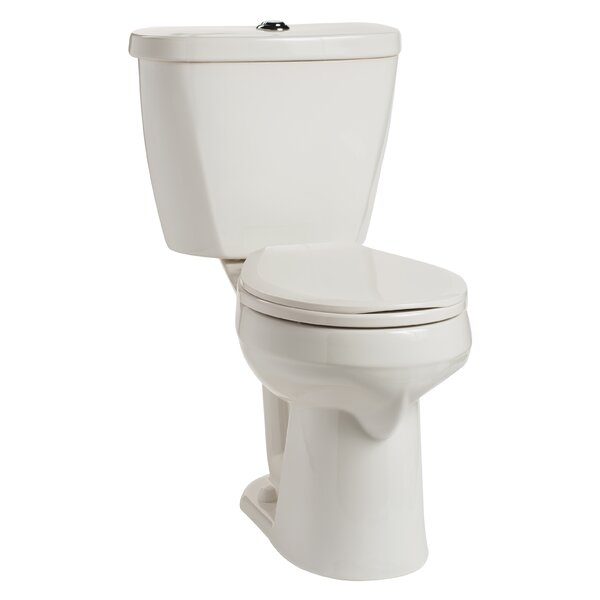 Summit HET SmartHeight Dual Flush Round Two-Piece Toilet by Mansfield Plumbing Products