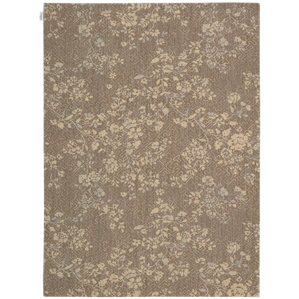 Loom Select Jasmine Vines Pecan Area Rug by Calvin Klein