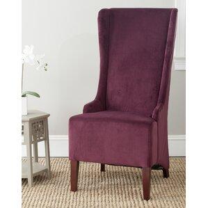 Oliva Cotton Parson Chair by Safavieh
