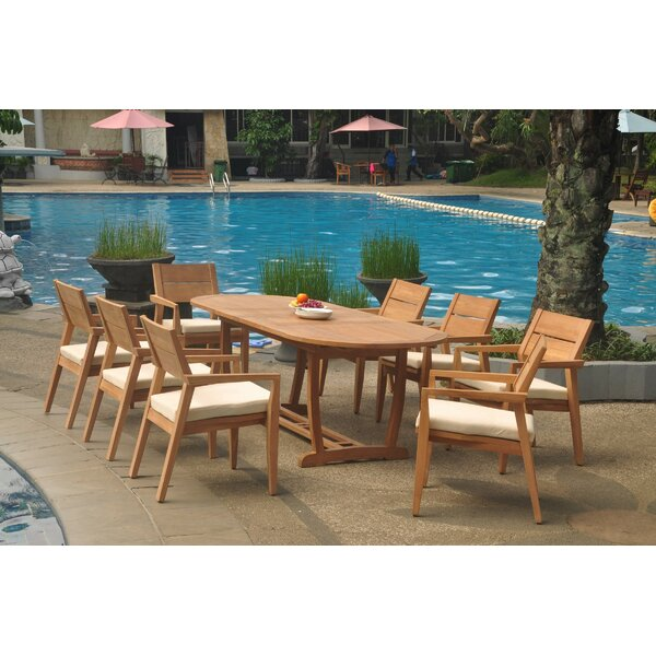 Pinehur 9 Piece Teak Dining Set By Rosecliff Heights by Rosecliff Heights Best Design