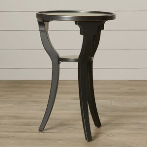 Milla Round End Table by August Grove