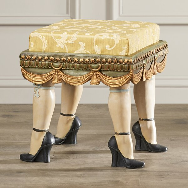 Moreton Boudoir Stool by Astoria Grand