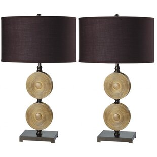 Best Choices Macclenny Chime 29 Table Lamp (Set of 2) By Bloomsbury Market