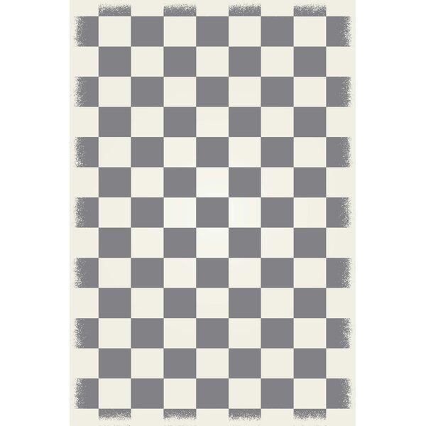 Wendt Grey/White Indoor/Outdoor Area Rug by Winston Porter