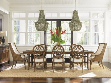 Bali Hai 9 Piece Extendable Dining Set by Tommy Bahama Home Tommy Bahama Home