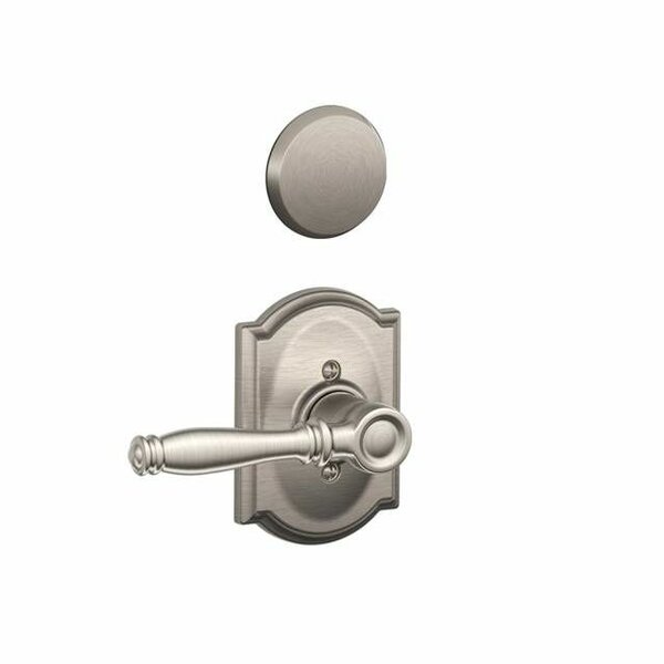 Interior Non-Turning Birmingham Lever and Interior Inactive Deadbolt Thumbturn by Schlage