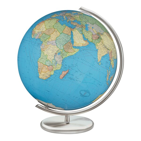 Kiel Illuminated Glass Desktop Globe by Columbus Globe