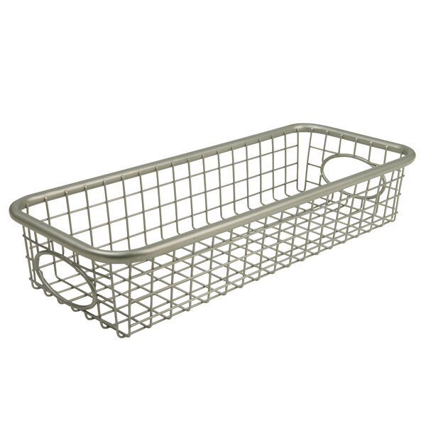 Tray Metal Basket by Latitude Run