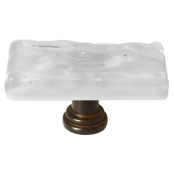 Skinny Glacier Rectangle Knob by Sietto