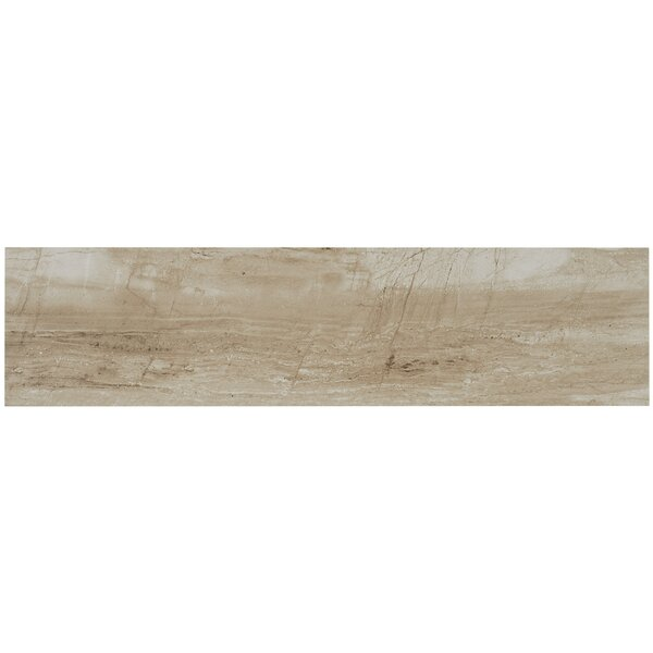 Mansfield 6 x 24 Porcelain Wood Look Tile in Sandy Flats by Itona Tile