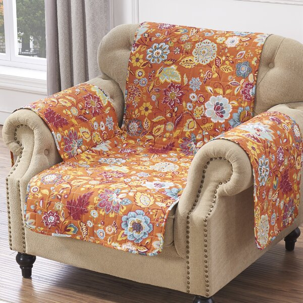 Astoria Spice Sofa Slipcover by Red Barrel Studio