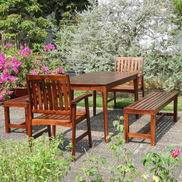 Enright 5 Piece Dining Set by Breakwater Bay