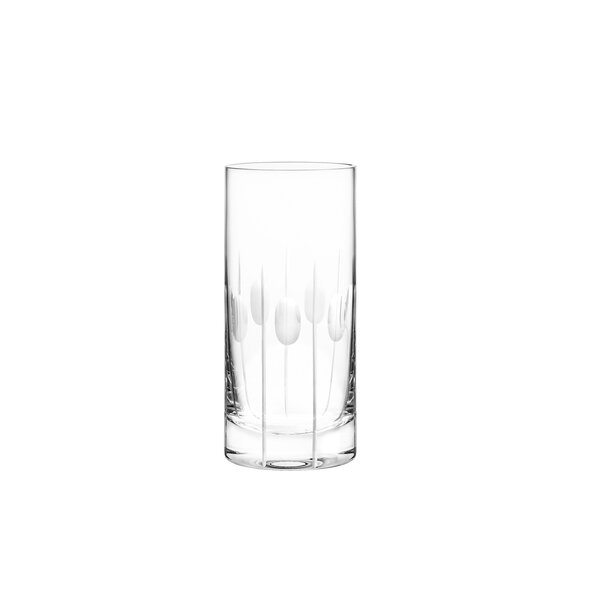Gulfstream Highball Glass (Set of 4) by Qualia Glass