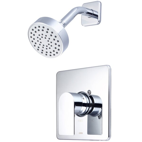 i4 Single Handle Volume Control Shower Faucet by Olympia Faucets Olympia Faucets
