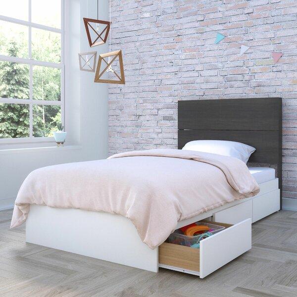 Omer Storage Platform Bed by Ebern Designs