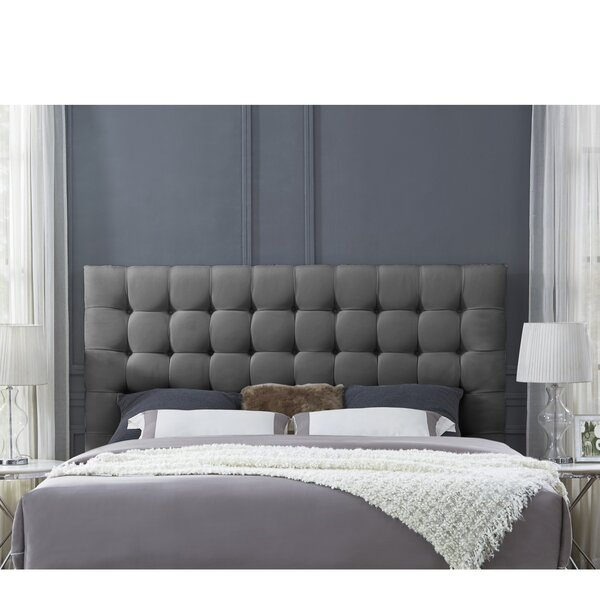 Bourgault Upholstered Panel Headboard by Brayden Studio