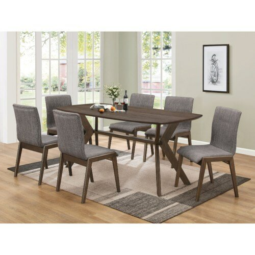 Poitra Upholstered Dining Chair (Set of 2) by Union Rustic