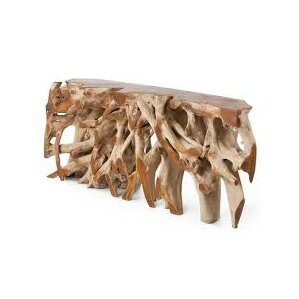 Teak Root Console Table by..