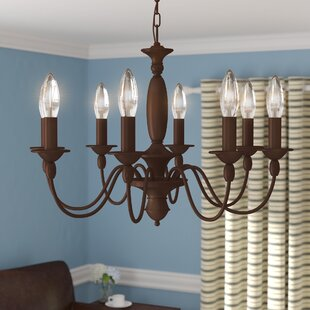 Light oak kitchen chairs wayfair sarah 8 light candle style chandelier workwithnaturefo