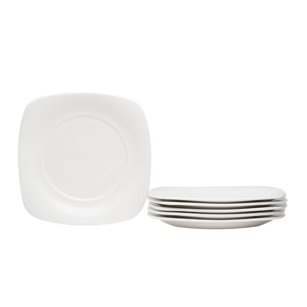 Hospitality Salad or Dessert Plate (Set of 6) by Red Vanilla