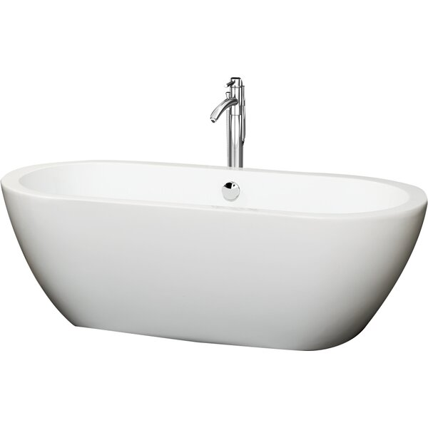 Soho 68 x 31 Freestanding Soaking Bathtub by Wyndham Collection