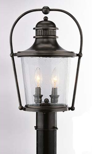 Theodore 3 Light 10.75 Post Lantern by Darby Home Co