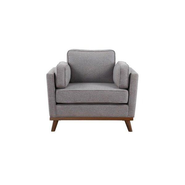 Lumpkin Wooden Armchair by Ivy Bronx