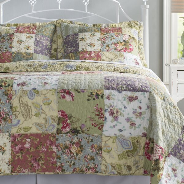 Bauer Reversible Quilt Set by August Grove