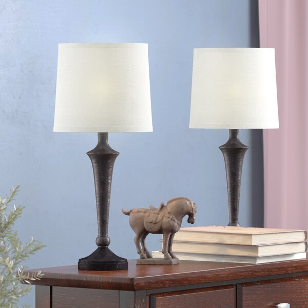 Beattie 17 Table Lamp (Set of 2) by Alcott Hill