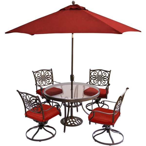 Reynosa Traditions 5 Piece Dining Set by Astoria Grand