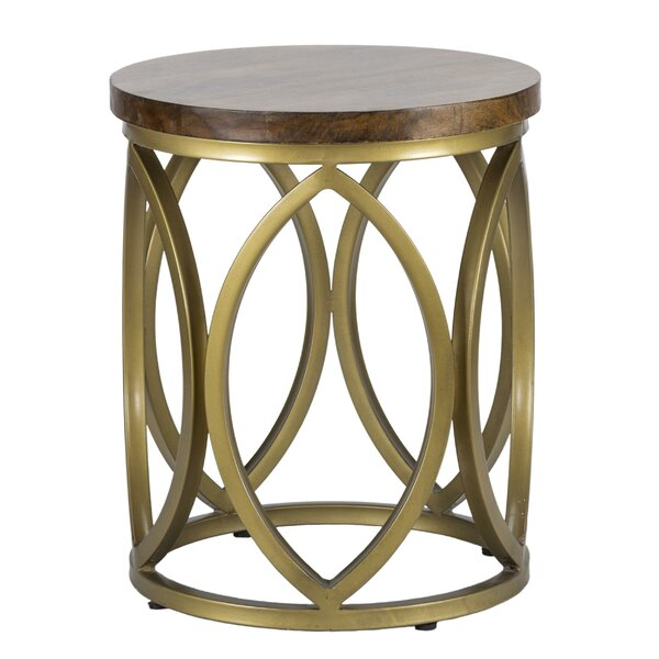 Gendron End Table By Everly Quinn