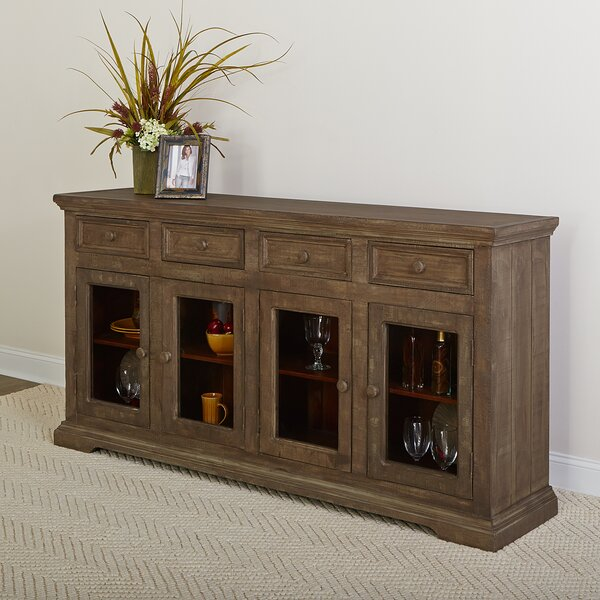 Winslow 4 Door 4 Drawer Sideboard by Rosecliff Heights