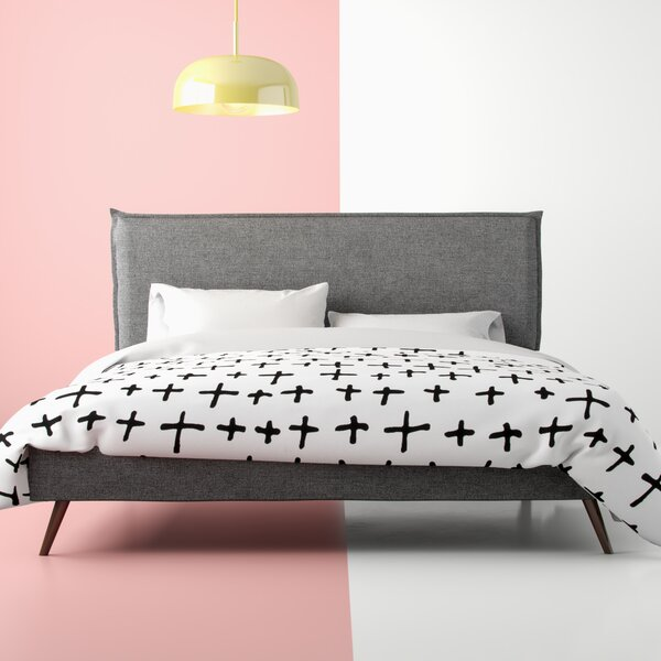 Winsett Upholstered Platform Bed by Hashtag Home