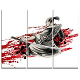 iCanvasART 3-Piece Acala fudo Canvas Print by Unknown Artist 1.5 by 40 by 60-Inch