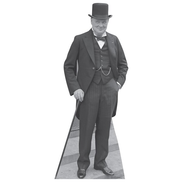 Winston Churchill 1929 Life-Size Cardboard Cutout Stand-Up by Advanced Graphics