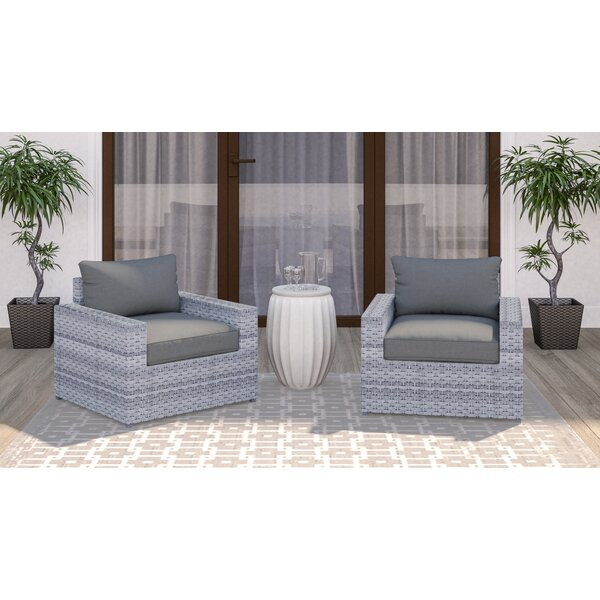 Kordell Patio Chair with Cushions (Set of 2) by Sol 72 Outdoor Sol 72 Outdoor