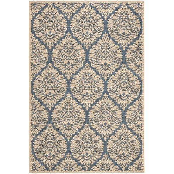 Berardi Blue/Cream Area Rug by Darby Home Co