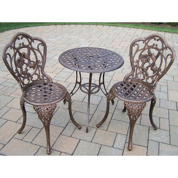 Wendling 3 Piece Bistro Set by August Grove