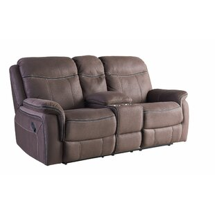 Garris Reclining Loveseat Red Barrel Studio