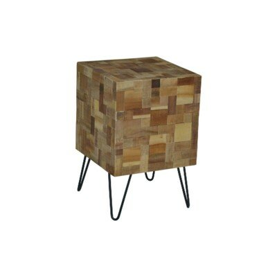 Lohmann End Table by Union Rustic