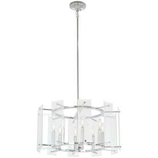Where buy  Orkney 8-Light Drum Chandelier By Orren Ellis