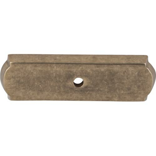 Aspen Rectangle Backplate by Top Knobs