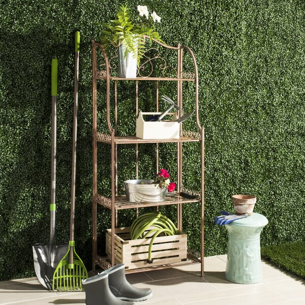 Amaris 4 Tier Etagere Bookcase by Safavieh